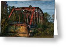 The Old Brooklyn Bridge Greeting Card
