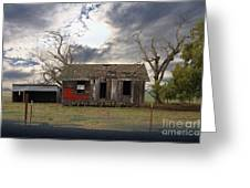 The Old Farm House In My Dreams Greeting Card