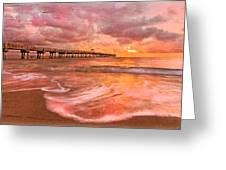 The Old Fishing Pier Greeting Card