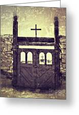 The Old Galisteo Cemetery Greeting Card
