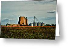 The Old Grain Mill Greeting Card