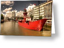 The Old Lightship Greeting Card