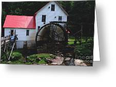 The Old Mill 1886 In Cherokee North Carolina Greeting Card