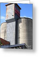 The Old Napa Mill In Napa California Wine Country Greeting Card