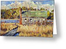 The Old Relic - Plein Air Greeting Card