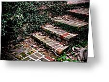 The Old Steps Greeting Card