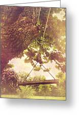 The Old Swing Greeting Card