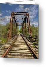 The Old Trestle Greeting Card