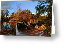 The Old Yates Mill Greeting Card