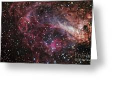 The Omega Nebula Greeting Card