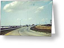The Open Road #notraffic #random #hdr Greeting Card by Kel Hill
