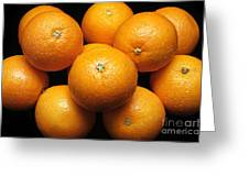 The Oranges Greeting Card