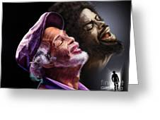 The Other Side-gil Scott Finally Going Home Greeting Card