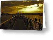 The Other Side Greeting Card