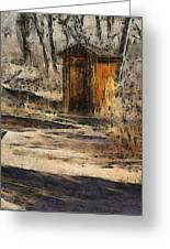 The Outhouse Greeting Card