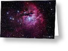 The Pacman Nebula Greeting Card by Robert Gendler