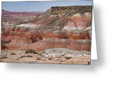The Painted Desert  8013 Greeting Card