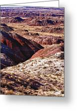 The Painted Desert  8023 Greeting Card
