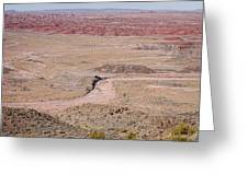 The Painted Desert  8042 Greeting Card