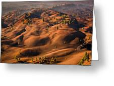 The Painted Dunes Greeting Card
