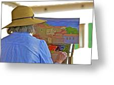 The Painter Greeting Card