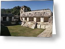 The Palace    Palenque Greeting Card