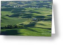 The Palouse 1 Greeting Card
