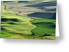 The Palouse 2 Greeting Card