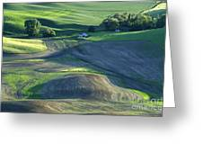 The Palouse 3 Greeting Card