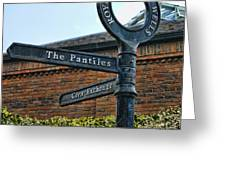 The Pantiles Greeting Card