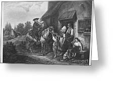 The Pastors Visit Greeting Card
