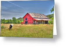The Pasture Greeting Card