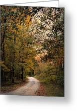 The Path Less Traveled 2 Greeting Card