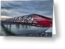 The Peace Bridge Greeting Card