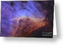 The Pelican Nebula Greeting Card