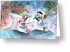 The People From The Troodos Mountains Greeting Card