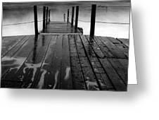 The Pier...protaras Greeting Card
