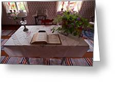 The Place Of The Bible In Kovero Greeting Card