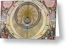 The Planisphere Of Brahe Harmonia Greeting Card