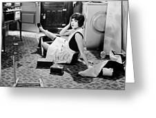 The Play Girl, 1928 Greeting Card