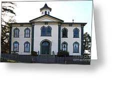 The Potter School House . Bodega Bay . Town Of Bodega . California . 7d12487 Greeting Card