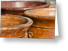 The Potters Terracotta Wares Greeting Card
