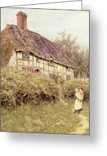 The Priest's House West Hoathly Greeting Card