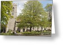 The Priory Church Of Saint Mary And All Saints Weybourne Greeting Card
