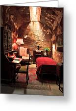 The Prison Cell Of Al Capone Greeting Card