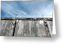 The Prison Walls Greeting Card