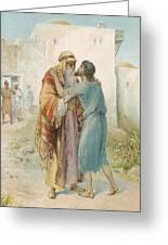The Prodigal's Return Greeting Card