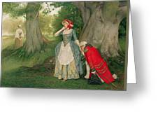 The Proposal Greeting Card