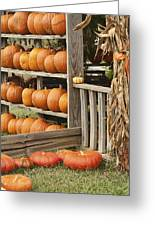 The Pumpkin Shack At Isom's Orchard Greeting Card