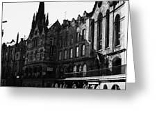 The Quaker Meeting House On Victoria Street Edinburgh Scotland Uk United Kingdom Greeting Card
